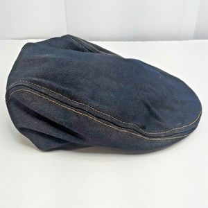 Vintage Levi's denim hat Newsboy Cabbie golf cap